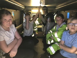 Year 3 and Y4 trip to Emergency Museum
