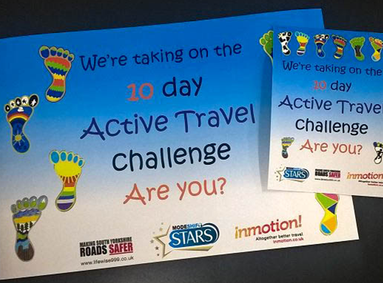10 day Active Travel Challenge