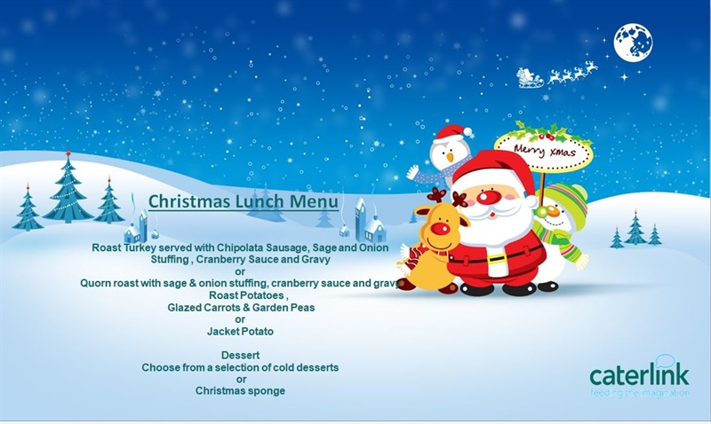 Christmas lunch Wednesday 12th December, 2018