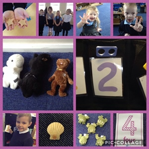 Number fun, nature walks and rainbow buns!