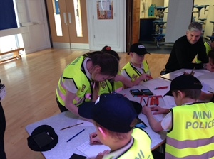Mini Police Officer Training